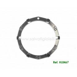 TAG HEUER Bezel HL0467 for Aquaracer steel Diver WAF1113