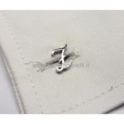 Obsigno cufflinks initial silver 925 & onyx  - letter Z