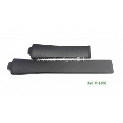 TAG HEUER KIRIUM FT 6000 black rubber strap 21mm FT6000 CL11.. WL11..WL51.. WL10..