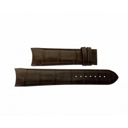 TISSOT Brown leather strap T610028586  for Couturier size XL 23mm T610.028.586