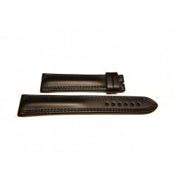 EBERHARD black leather strap x TRAVERSETOLO XL 21mm ref. 182XL x ref: 20019 - 20020 - 21016 - 21019 - 21020 - 21216