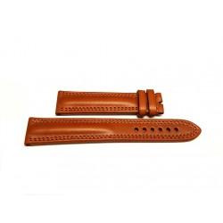 EBERHARD brown leather strap x TRAVERSETOLO 21mm ref 181 x ref: 20019 - 20020 - 21016 - 21019 - 21020 - 21216