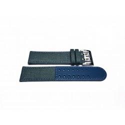 HAMILTON Khaki Field blue gray canvas strap 22mm ref. H600706105 H600.706.105 H70605943 H706050