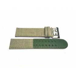 HAMILTON Khaki Field Green canvass strap 22mm ref. H600.706.107 H600.706.107  x H70605963