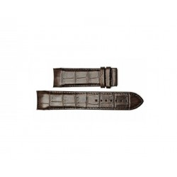TISSOT Brown strap XL ref. T610028612 for Tissot Couturier CH 24mm T610.028.612