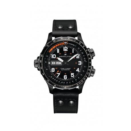 HAMILTON watch Ref H77755533 Khaki Aviation X-Wind Day Date Auto