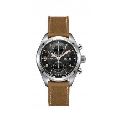 HAMILTON watch Ref H77616533 Khaki Aviation X-Wind Auto Chrono