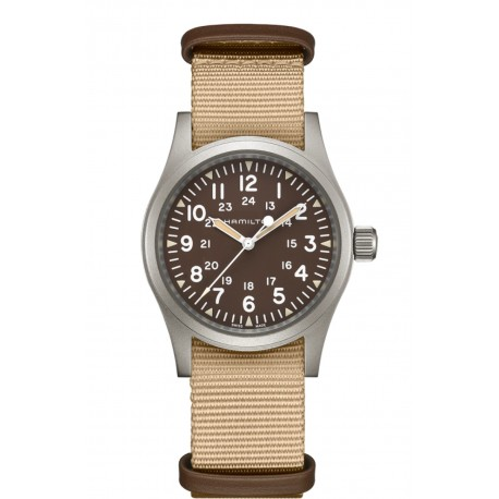 HAMILTON watch Ref H69419363 Khaki Field Officer Auto