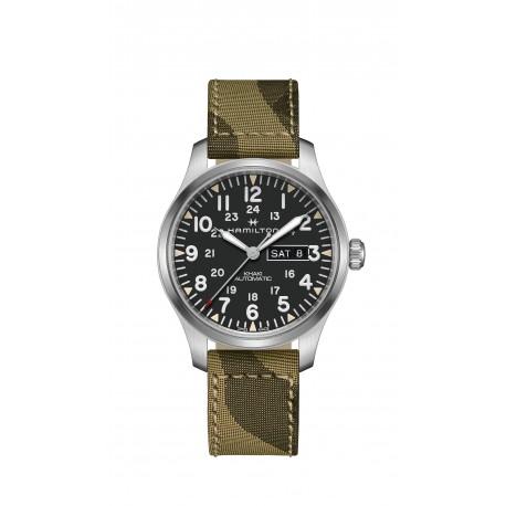 HAMILTON watch Ref H69439363 Khaki Field Officer Auto