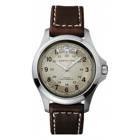 HAMILTON watch Ref H64455533 Khaki Field King Auto