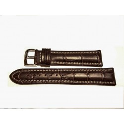 BREITLING cinturino marrone scuro MORELLATO croco brown strap 20mm (TOP QUALITY)