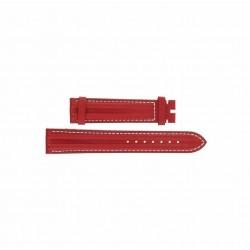 OMEGA Speedmaster Schumacher 1562-853 Yellow leather strap 18mm ref. 97640064 - white sewing