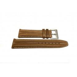 HAMILTON KHAKI ACTION double hump brown strap 20mm H600.614.101 ref H600614101
