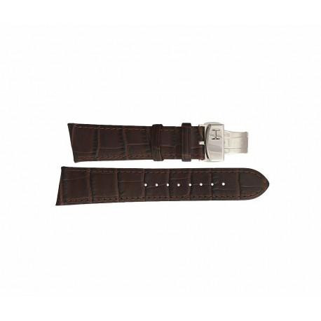 HAMILTON cinturino nero VENTURA black strap 17 mm H600.244.101 ref. H600244101 for H244110