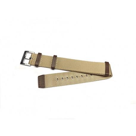 Hamilton KHAKI Beige / brown Nato Nylon strap 20mm ref. H600.694.103 / H600694103