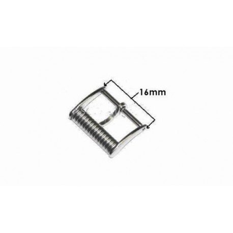LONGINES ORIGINAL steel buckle 18mm L649101688  boucle hebilla Dornschließe modello Charleston L649.101.688