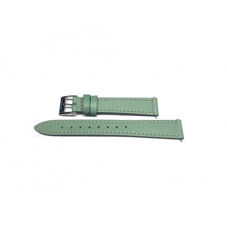 HAMILTON ARDMORE green leather strap 14mm H600.112.111 ref. H600112111 for H11221014 / H112210