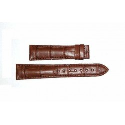 LONGINES brown strap 21 mm L682.101.065 ref. L682101065