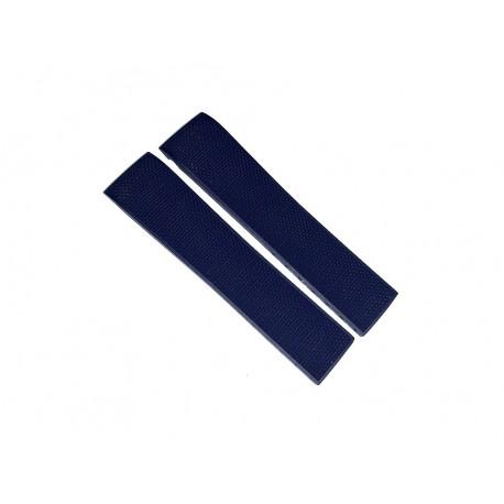 LONGINES blue rubber strap 21mm L682154912 ref. L682.154.912 for HYDROCONQUEST L3.783.4