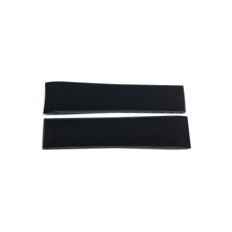 LONGINES black rubber strap 21mm L682154910 ref. L682.154.910 for HYDROCONQUEST L3.783.4
