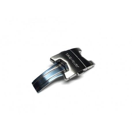 TAG HEUER CARRERA HEUER 02 SENNA steel clasp ref. FF0296 for steel bracelet BA0657