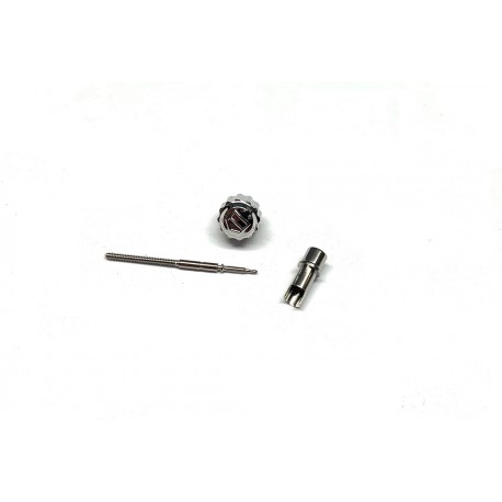 TAG HEUER  watch crown, winding stem and tube ORIGINAL ref. HC0005 / HC1062 / MT0018  for AQUARACER WK1113