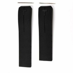 TISSOT T-TOUCH EXPERT cinturino nero gomma 21mm black strap T610026464