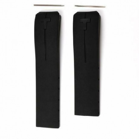 TISSOT T-TOUCH EXPERT cinturino nero gomma 21mm T610026464 T610.026.464 black strap x T013420A T047420A
