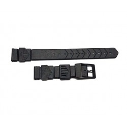 TAG HEUER Black plastic strap 18mm for formula 1 midsize ref. BS0081
