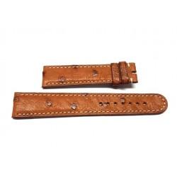 EBERHARD Brown Cognac leather strap 20mm AIGLON GRANDE TAILLE ref. 085 x 41030