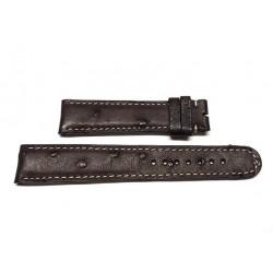 EBERHARD Brown leather strap 20mm AIGLON GRANDE TAILLE ref. 087 x 41030