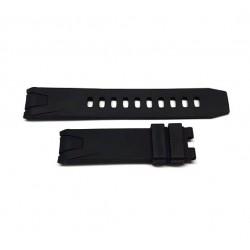 OMEGA black Rubber strap 20mm 98000085 for seamaster 2254.50